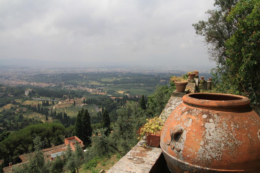Guido N. Zingari, giugno2014, Fondazione Michelucci. Vista panoramica della piana fiorentina