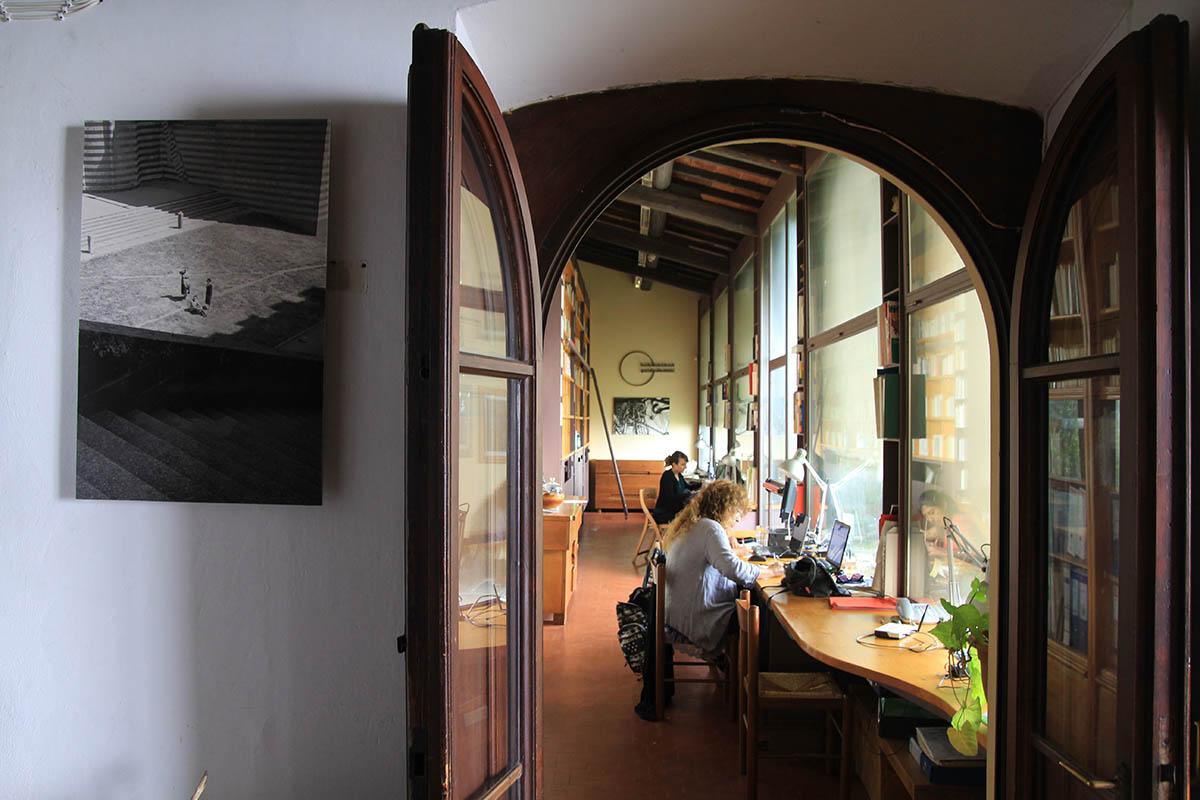 Guido N. Zingari, giugno2014, Fondazione Michelucci. La Biblioteca e Sala studio