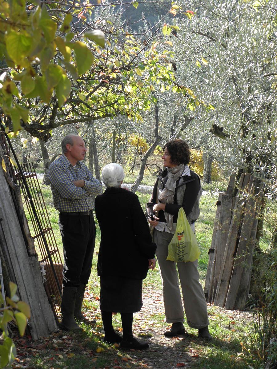 Lilli Bacci, novembre 2011, Fiesole. Valentina Zingari intervista Irma Valoriani