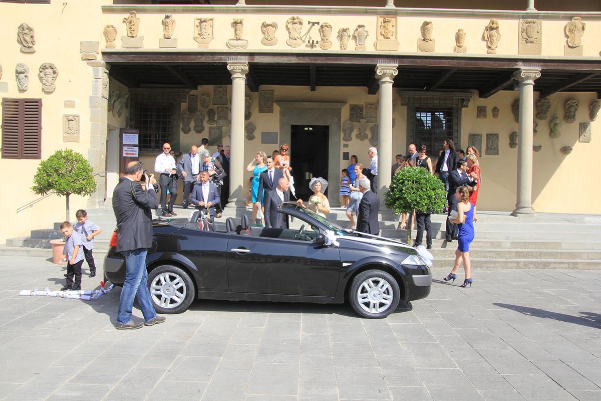 Guido N. Zingari, giugno 2014, Fiesole. Matrimonio in Piazza Mino