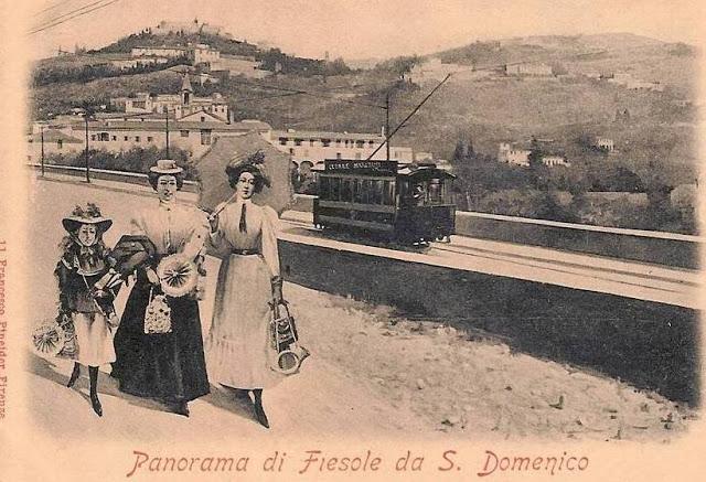 Collezione R.Jahier, 1890 , San Domenico. Panorama di Fiesole da San Domenico
