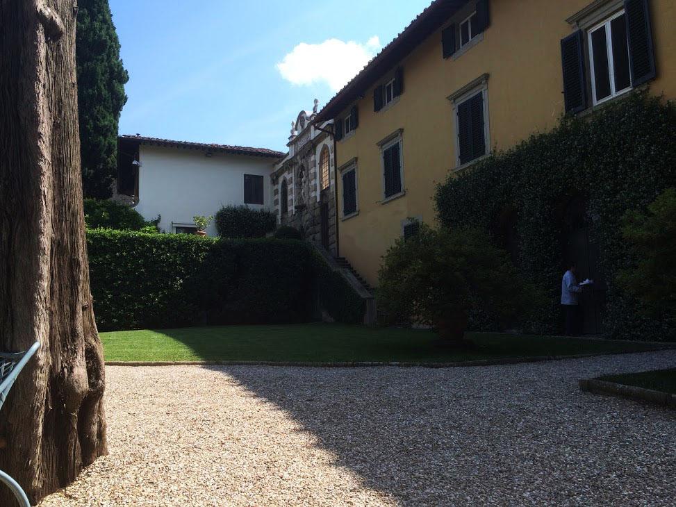 Lena Duffield, maggio 2014, Fiesole. Villa i Tatti, facciata ovest