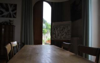 <em>Guido N. Zingari, giugno2014, Fondazione Michelucci. La Sala riunioni </em>