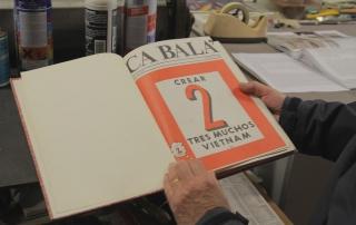 """Guido N. Zingari, maggio2014, Compiobbi. Berlinghiero Buonarroti mostra la rivista """"Ca Balà"""""""
