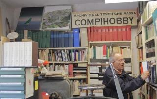 Guido N. Zingari, maggio 2014, Compiobbi. Berlinghiero Buonarroti nel suo studio-laboratorio