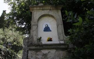 Guido N. Zingari, giugno 2014, Montececeri. Tabernacolo in Via degli Scalpellini