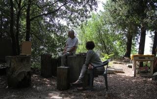 Guido N. Zingari, maggio2014, Montececeri. Valentina Zingari intervista Enrico Papini
