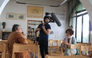Guido N. Zingari, giugno2014, Fondazione Michelucci. Valentina Zingari intervista Corrado Marcetti
