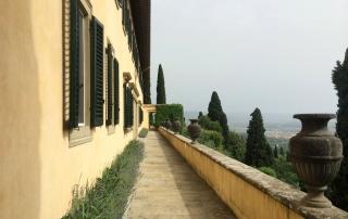 Lena Duffield, maggio 2014, Fiesole. Panorama dalla terrazza di Villa le Balze
